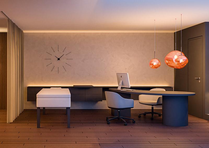 Beratungsbereich für das Quality Personal Coaching Concept fuer Hotellerie